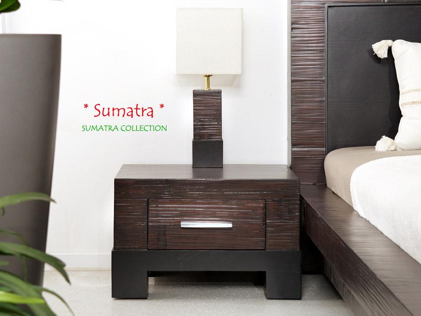 Bambus nachttisch schlafzimmer sumatra - Schlafzimmer bambus ...