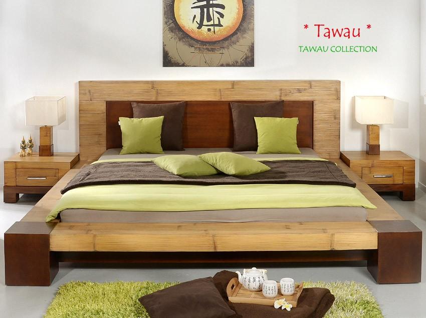 Schlafzimmer bambus nachttisch tawau - Schlafzimmer bambus ...